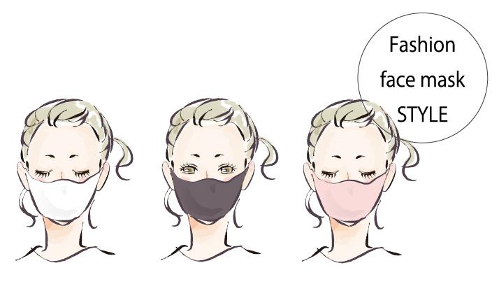 マスクひとつで手抜き美人に